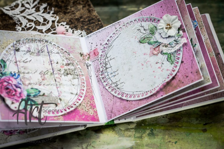 Vintage Treasures Collection Inspiration | Mini Album with Dorota Kotowicz