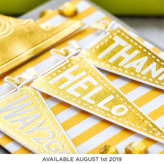 Coming Soon! Spellbinders August 2019 Clubs - Glimmer Kit of the Month