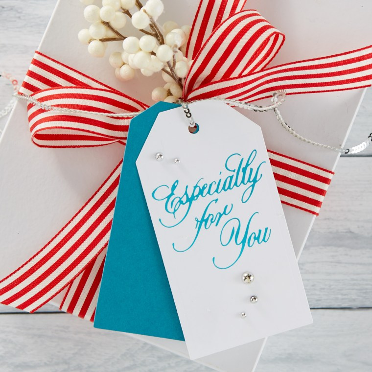 GLP-089 Copperplate Script Gift Tag Sentiments