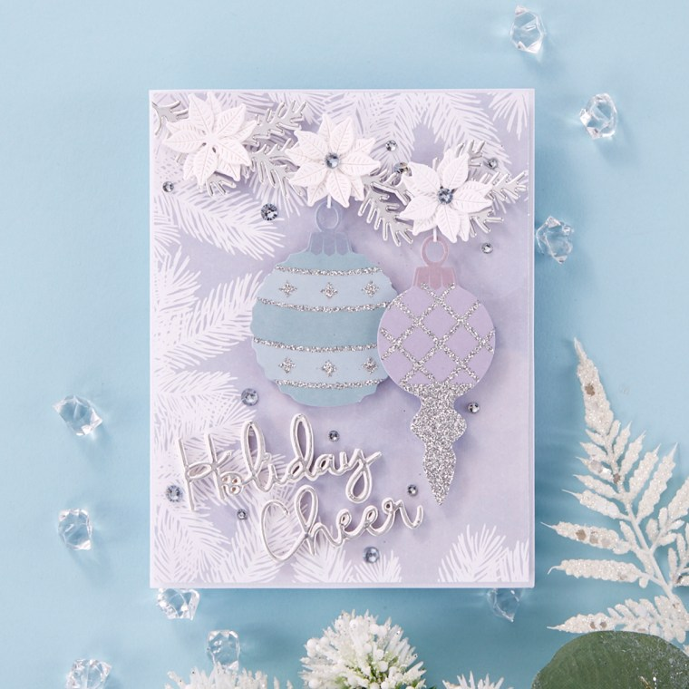 Spellbinders October 2019 Card Kit of the Month is Here – Sparkling Holidays