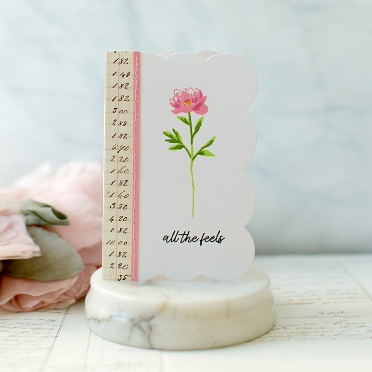 Spellbinders - Candlewick Sampler Collection by Becca Feeken - Inspiration | CAS Romantic Cards with Carolyn Peeler