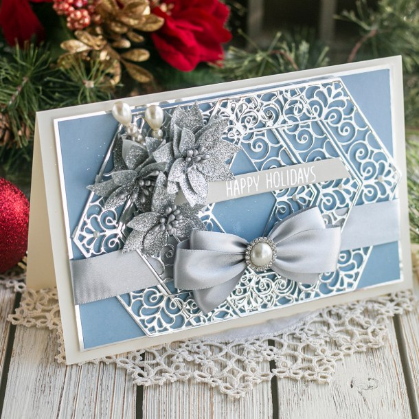 November 2019 Amazing Paper Grace Die of the Month is Here – Winter's Solstice Snowflake