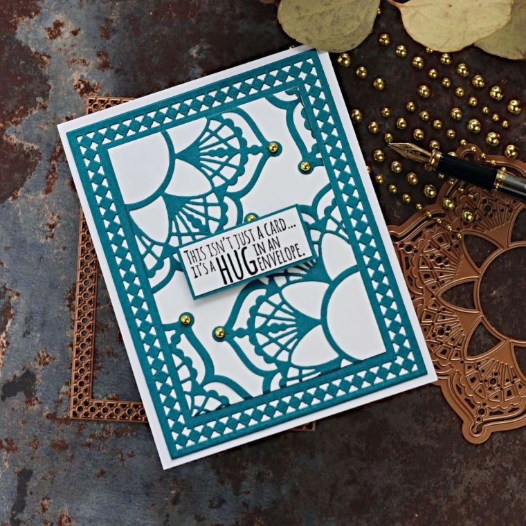 Spellbinders Candlewick Classics Collection by Becca Feeken - Inspiration | Colorful Cards with Bibi