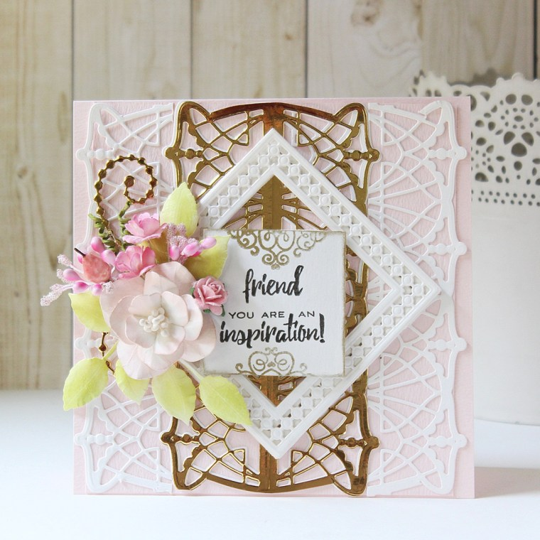 Spellbinders Candlewick Classics Collection by Becca Feeken - Inspiration   Layered Cards with Hussena
