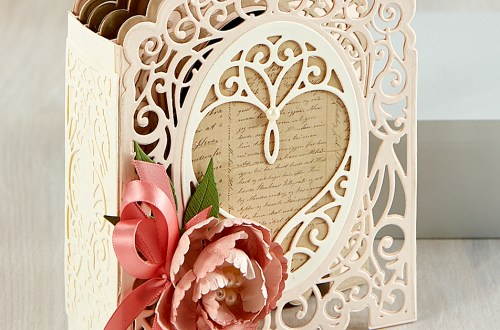 Spellbinders Amazing Paper Grace 3D Vignette Mini Album Project Kit is Here!