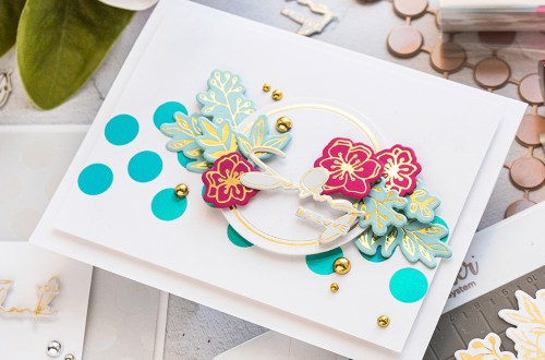 Spellbinders - Yana Smakula Foiled Basics Project Kit is Here!