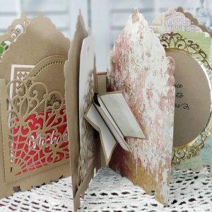 3D Vignette Mini Album Inspiration   Mini Album & Card By Sheri Holt