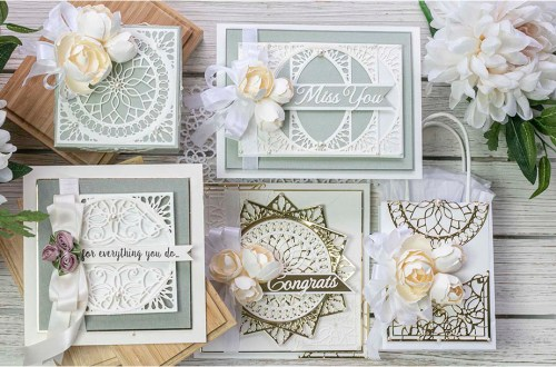 Spellbinders March 2020 Amazing Paper Grace Die of the Month is Here – Elegant Infinity #Spellbinders #AmazingPaperGraceClubKit #SpellbindersClubKits #NeverStopMaking