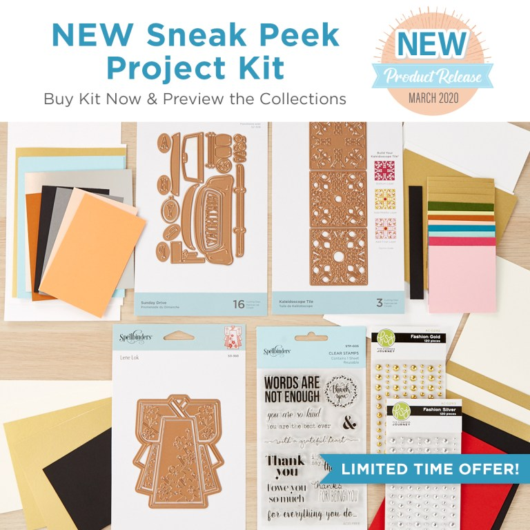 Spellbinders - The Cutting Edge Project Kit!