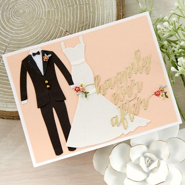 Spellbinders Wedding Season Project Kit is Here! #Spellbinders #NeverStopMaking #DieCutting #Cardmaking