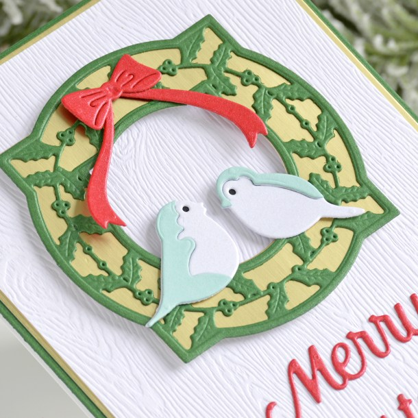 Spellbinders Christmas Cascade Collection by Becca Feeken – A Mini Photo Flipbook and Card with Annie Williams #Spellbinders #AmazingPaperGrace #DieCutting #NeverStopMaking #Christmas #Christmascardmaking
