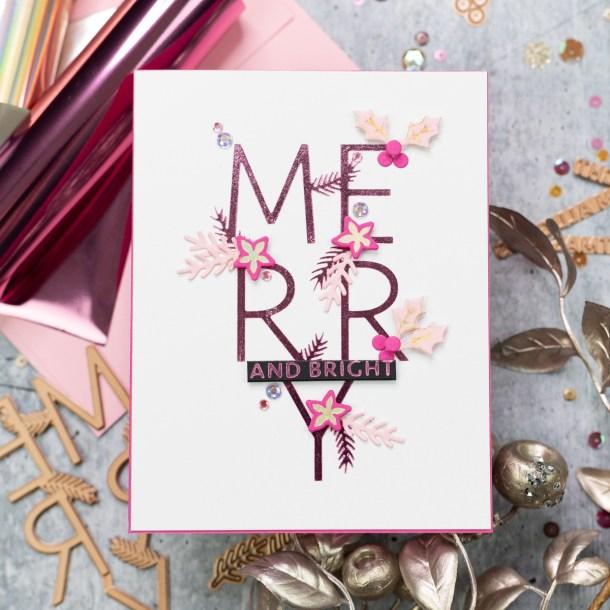 Spellbinders Sparkling Christmas 2020 Collection - Inspiration   Foiled Cardmaking Ideas with Jenny #Spellbinders #NeverStopMaking #GlimmerHotFoilSystem #Cardmaking #ChristmasCardmaking