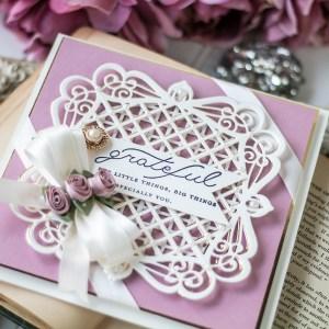 Spellbinders September 2020 Amazing Paper Grace Die of the Month is Here – Lattice Quadrante #Spellbinders #NeverStopMaking #AmazingPaperGrace #Cardmaking