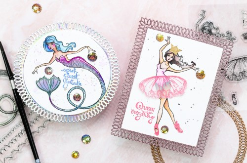 Spellbinders Stamp Camp Collection by Jane Davenport | Cardmaking Ideas with Jenny Colacicco #Spellbinders #NeverStopMaking #Cardmaking