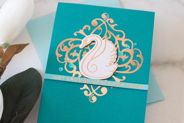 Becca Feeken Sweet Cardlets Collection – Glimmered Sweet Cardlets with Marie