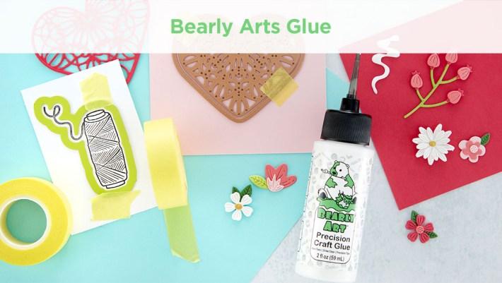 Bearly Art Mini 2 fl oz Precision Craft Glue + Tip Kit