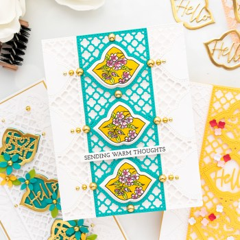 February 2021 Small Die of the Month Is Here – Trefoil Tile & Panel Card Creator