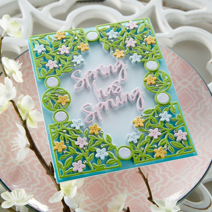 March 2021 Small Die of the Month Is Here – Spring Flowers Card Creator