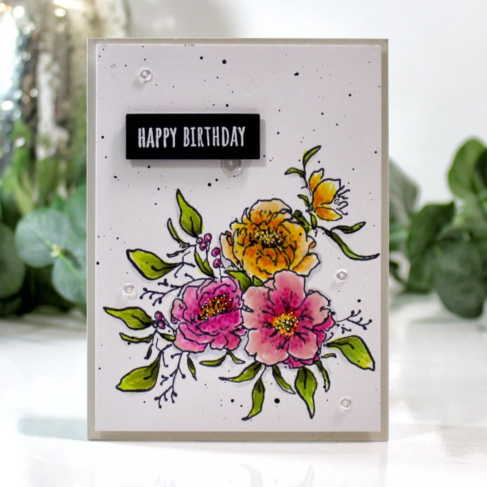 Watercolor Floral Cards with Betty Wright
