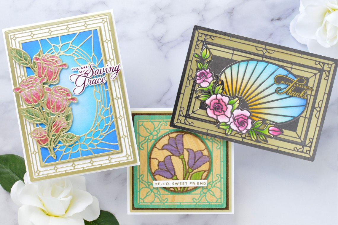 Stained Glass Bouquet Collection – Card Inspiration with Annie Williams