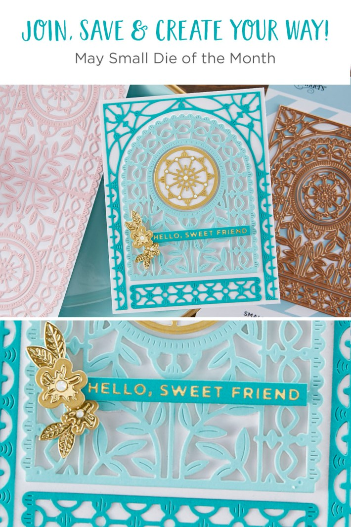 May 2021 Small Die of the Month Is Here – Arched A2 & Slimline Card Creator