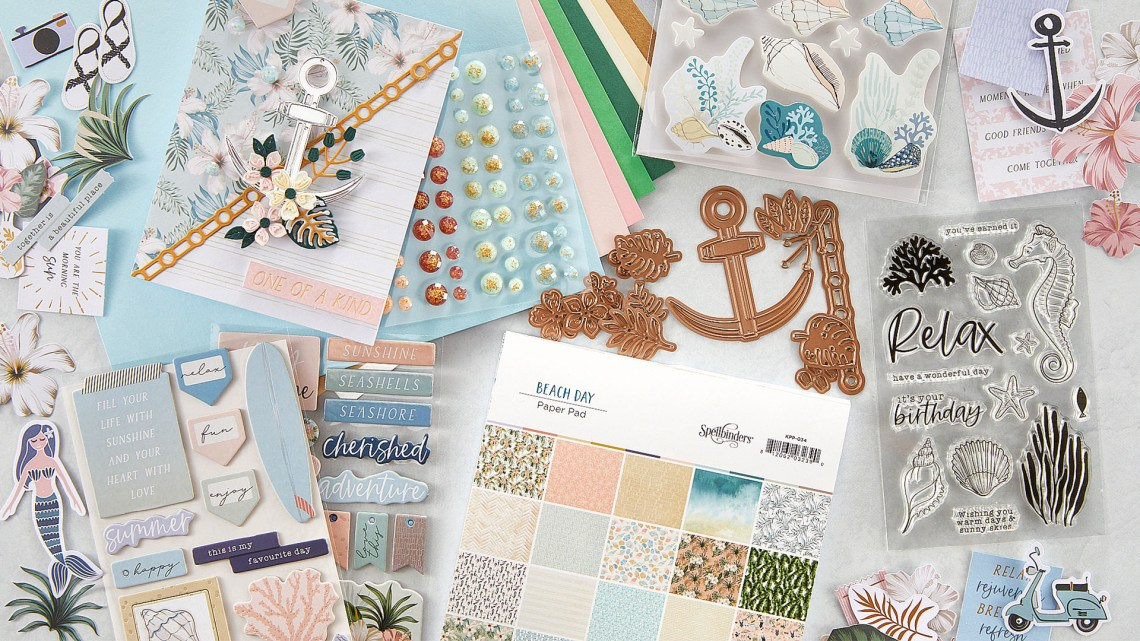 Coming Soon! May 2021 Clubs! Card Kit of the Month – Beach Day. Unboxing Video