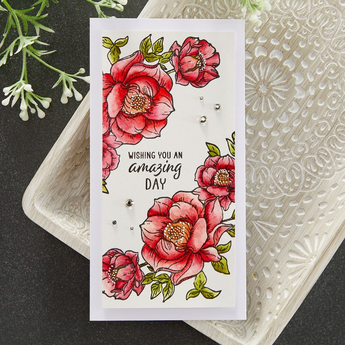July 2021 Clear Stamp of the Month is Here – Sending Floral Wishes