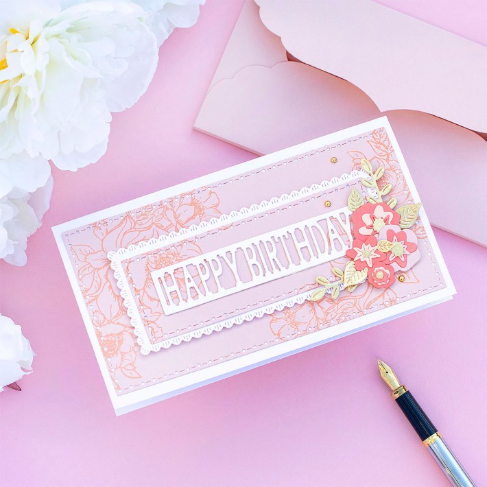July 2021 Large Die of the Month is Here – Mini Slimline Envelope & Nested Card Creator