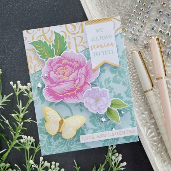 July 2021 Card Kit of the Month is Here – Damask Daydream