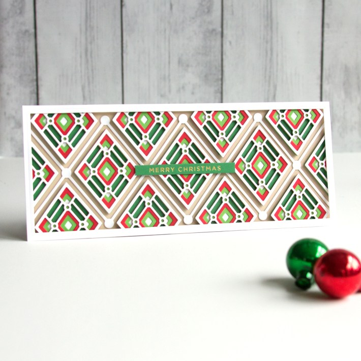 The Slimline Holiday Collection – Exploring Pattern and Texture with Jean Manis