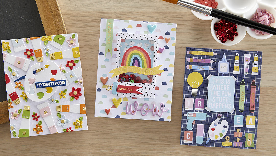 August 2021 Card Kit of the Month is Here – Art School