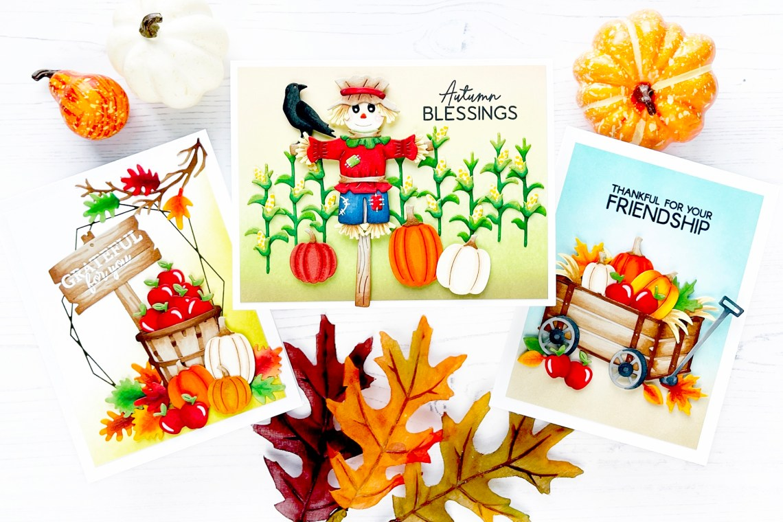 Happy Harvest Collection Inspiration with Caly Person