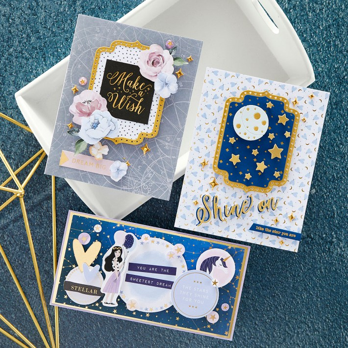 October 2021 Card Kit of the Month Preview & Tutorials – You Are Stellar