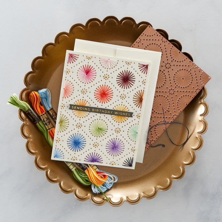 Stitched Card Tutorial | Spellbinders Live