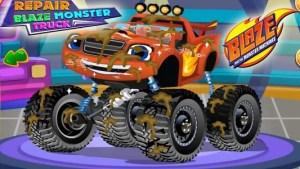 Repair Blaze Monster Truck