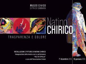 """Mostra """"Trasparenza e colore"""" di Natino Chirico al Museo di Cannara"""