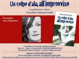 "Maria Laura Antonini a PassaParola presenterà ""Un colpo d'ala all'improvviso"""