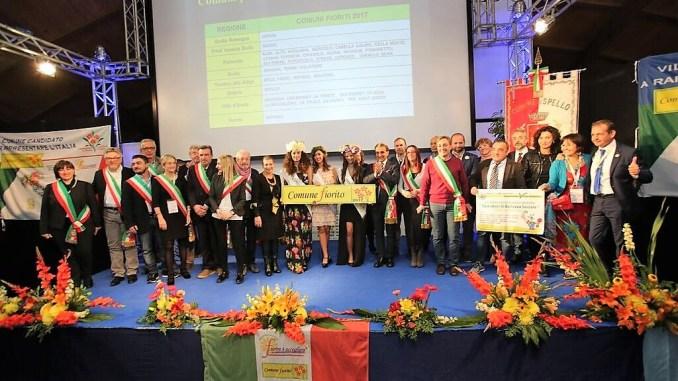 Concorso nazionale Comuni Fioriti 2017, Spellosul gradino più alto del podio