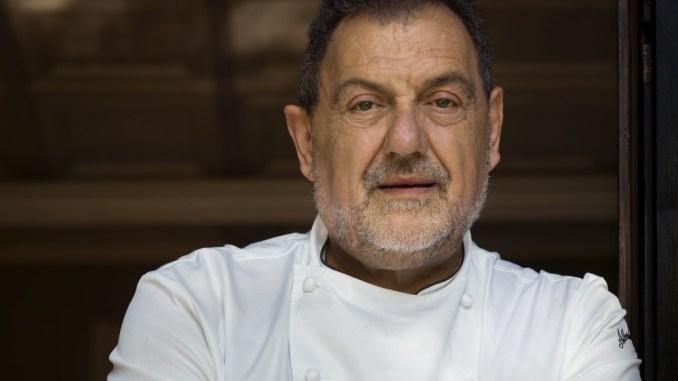 Lo Chef Gianfranco Vissani star della festa della Cipolla Winter di Cannara