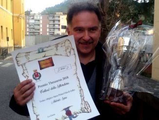 """Festival letteratura di Aulla: ad Antonio Luna il trofeo """"Migliore opera prima"""""""