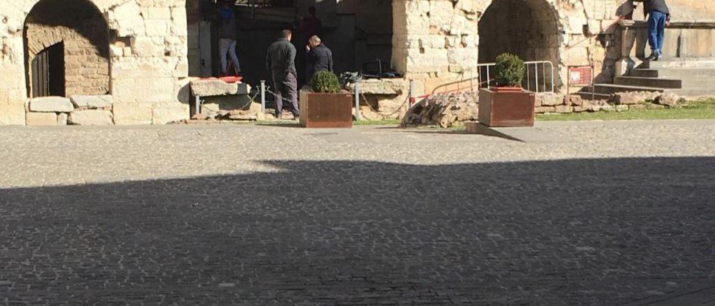Ripresi i lavori per l'ulteriore valorizzazione dell'area archeologica di Porta Consolare