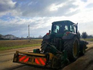 In corso i lavori di manutenzione straordinaria sulle strade di Cannara