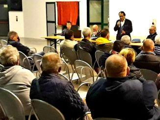 Numerosa partecipazione a Cà Rapillo all'incontro promosso da Comune