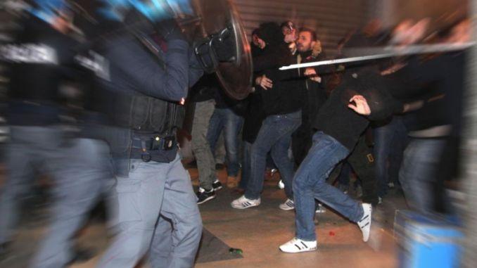 Disordini durante partita di calcio Cannara Sangiovannese, serie D, arriva Daspo a tre tifosi