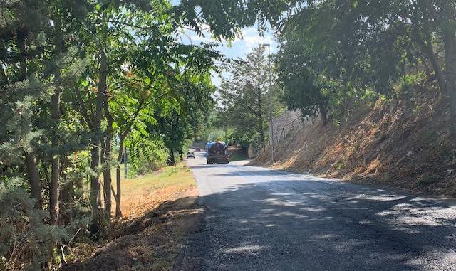 In corso l'intervento di bitumatura in via Liberazione e in un tratto di via Circonvallazione