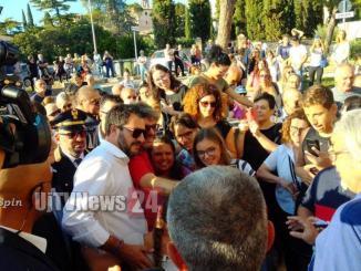 Elezioni regionali, Matteo Salvini a Spello, la diretta streaming