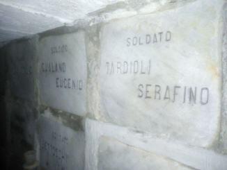 Tornata a casa la salma del soldato Serafino Tardioli, morto durante la Prima guerra mondiale