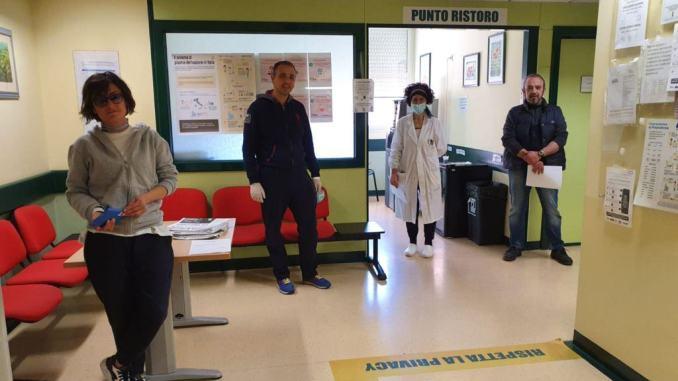Coronavirus, Associazione Amici di Spello donano il sangue
