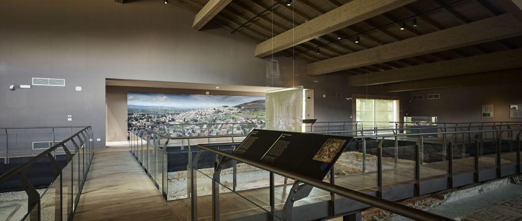 La villa dei mosaici di Spello riaperta al pubblico dopo chiusura causa covid