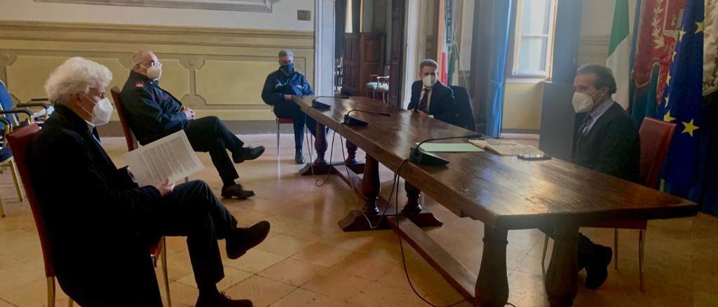 Emergenza Covid incontro tra il sindaco Landrini e il commissario D'Angelo